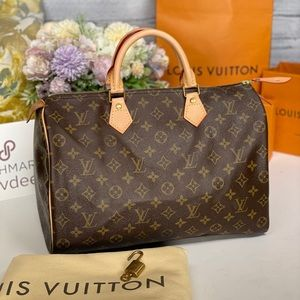 ✅Authentic ✅ LOUIS VUITTON Speedy 35 monogram